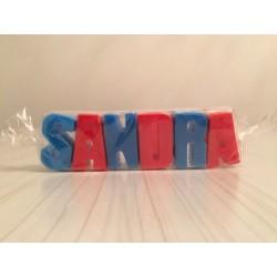 Nombre grande de jabón