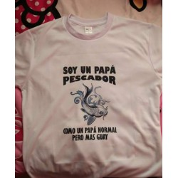 Camiseta Soy un Papá Pescador