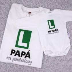 Pack 2 camisetas divertidas Dia del padre
