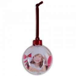 Bola para árbol de Navidad personalizada