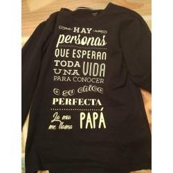 Camiseta manga larga me llaman papa