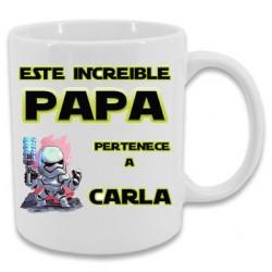 Taza papa increible star wars