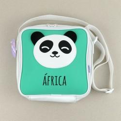 Bolsa Isotérmica Panda Menta Personalizada