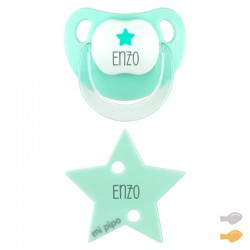 Pack Dúo Baby Deco Estrella Mint Personalizado
