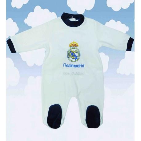 Pijama Real Madrid blanco-rosa