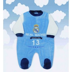 Pijama Real Madrid celeste