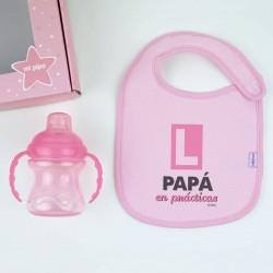 Cajita My Baby Rosa Personalizada