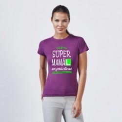 Camiseta Super mama en prácticas