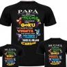 Pack Camisetas Eres tan listo .. de goku