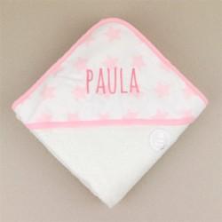 Capa de baño rosa