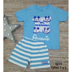 Pijama infantil niño personalizado mickey