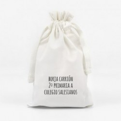 Bolsita para Mascarilla Nombre personalizada