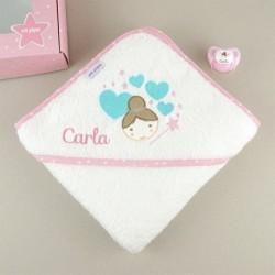 Cajita Baby Baño Hada personalizada