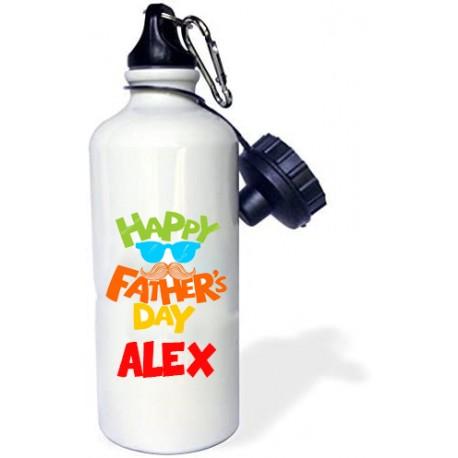 Botella agua Happy Father´s Day personalizada