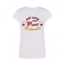 Camiseta así luce una mamá alucinante