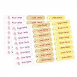 Etiquetas personalizadas