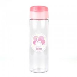 Botella Cisne Rosa 600ml personalizada