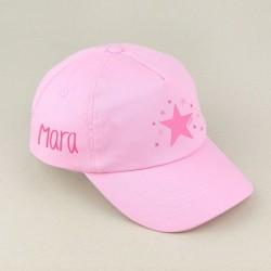Gorra Junior Hada Rosa o Blanca personalizada