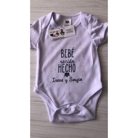 Body Bebé recién hecho por personalizado